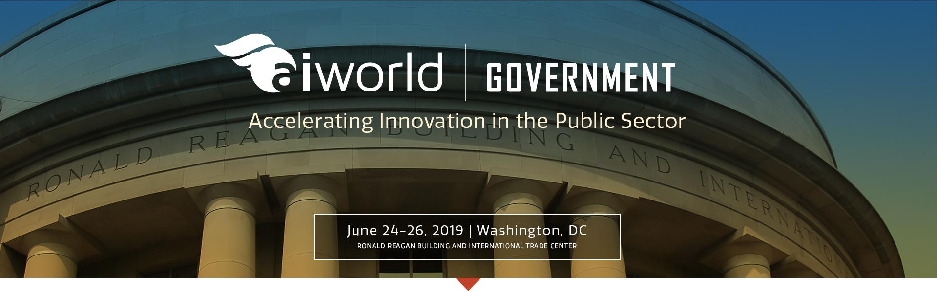 AI World Government Conference Venue Image