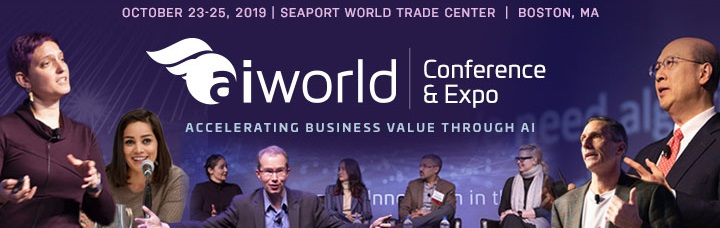 AI World 2019 Conference Images